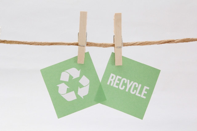 不用品は「リサイクル」「捨てる」に分ける!